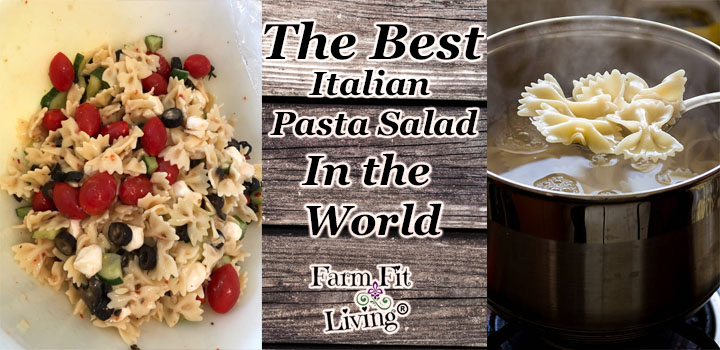 Best Wonderful Italian Pasta Salad in the World