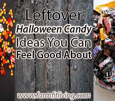 Leftover Halloween Candy Ideas You Can Feel Good About