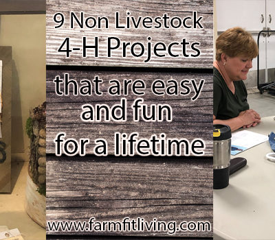 9 Non Livestock 4-H Projects that are Easy and Fun for a Lifetime