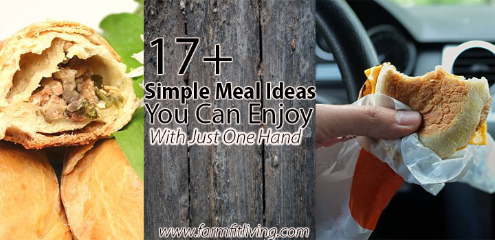 simple meal ideas you can enjoy with just one hand
