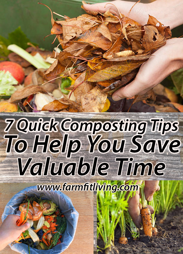 7 Quick Composting Tips to Help You Save Valuable Time