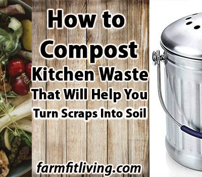 How to Compost Kitchen Waste That will Help You Turn Scraps into Soil