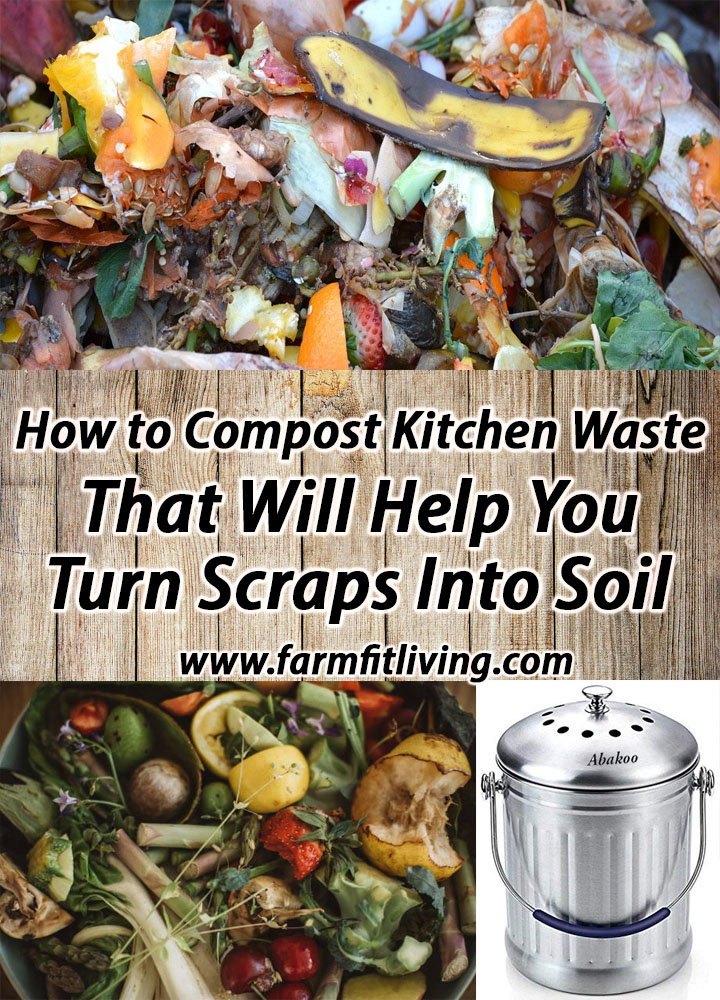 How to compost kitchen waste