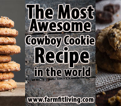the most awesome cowboy cookie recipe
