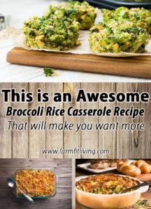 Awesome Broccoli Rice Casserole Recipe