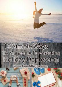 Manage a Devastating Holiday Depression