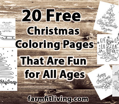 20 Free Christmas Coloring Pages That Are Fun For All Ages