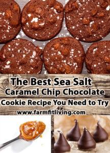 The Best Sea Salt Caramel Chip Chocolate Cookie Recipe