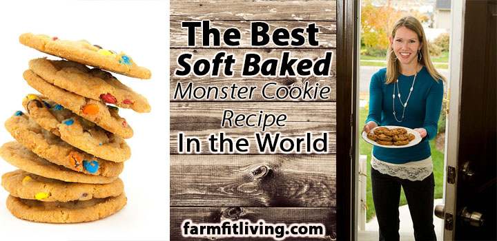 The Best Soft Baked Monster Cookie Recipe In The World