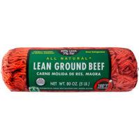 93% Lean/7% Fat, Ground Beef Roll, 5 lb - Walmart.com