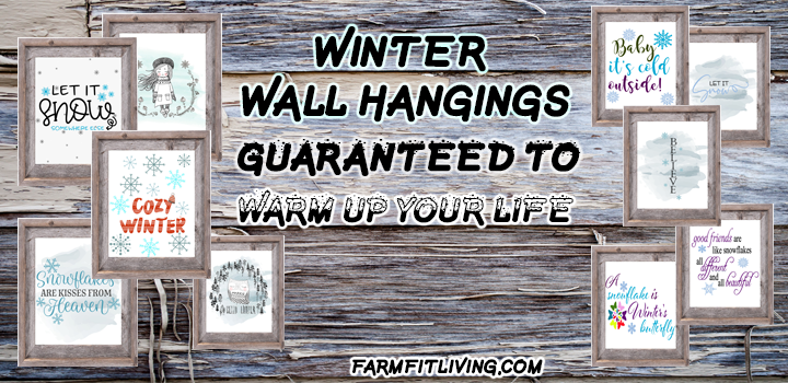 Free Winter Wall Hangings Guaranteed to warm up your life