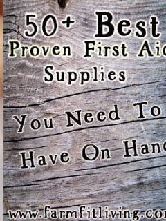 best proven first aid supplies