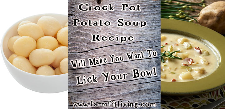 crock pot potato soup recipe