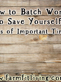 How to Batch Work to Save Yourself Tons Of Important Time