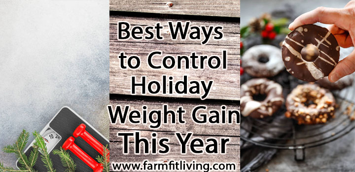 best ways to control holiday weight gain