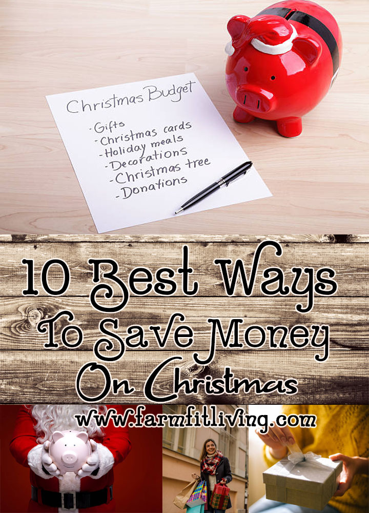 10 Best Ways to Save Money on Christmas